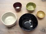 釉薬(仕上がりのお色)は5種類の中から選択